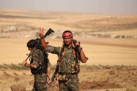 YPG fighters.