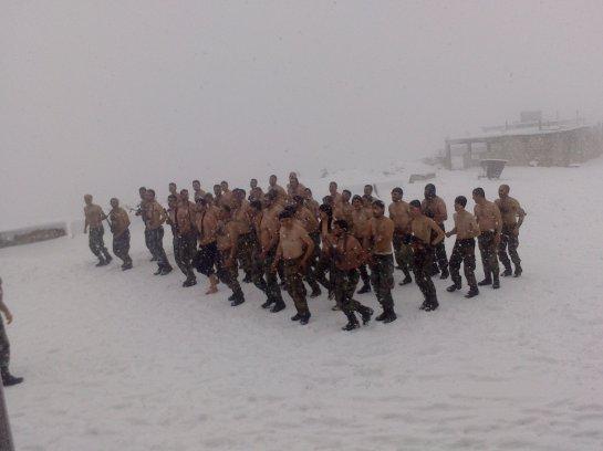 NDF fighters in Latakia.