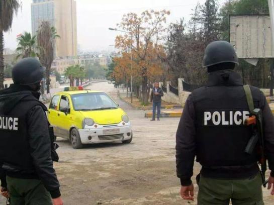 checkpoint aleppo. 12-12-2014 2