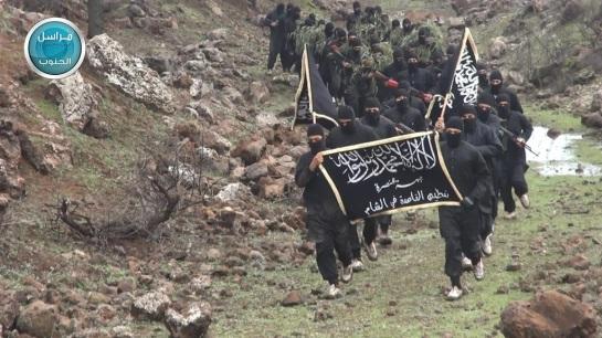 A Jabhat al-Nusra training camp in Quneitra. 1-28-2015 10
