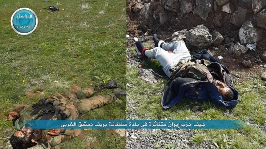 Government casualties in Sultaniyah.