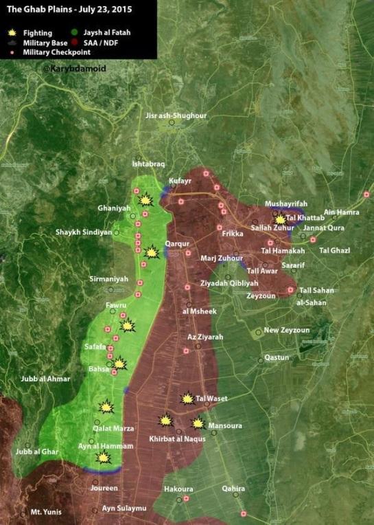 al-ghab plain 7-23-2015
